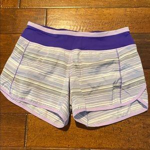 Lululemon 4in inseam shorts